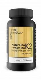 Herbamedicus Witamina K2 MK-7 VitaMedicus 30 kaps 3165141