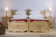 Woodica 29. Łóżko Góralskie  120x200