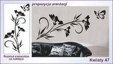 Naklejka Kwiaty, Ornamenty nr 47
