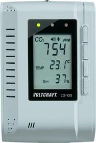VOLTCRAFT Miernik powietrza CO-100 naścienny zapis danych