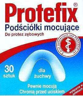 Queisser Pharma Protefix Podściółki mocujące do protez- żuchwa