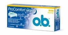 O.B. PROCOMFORT NIGHT NORMAL 16szt.