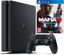 Sony PlayStation 4 1 TB Czarny + Mafia 3 + Uncharted 4