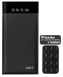 iGET Power Bank POWER B-15000 mAh B-15000) Czarna
