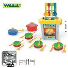 Wader Party World - Kuchnia z akcesoriami 31el. w siatce