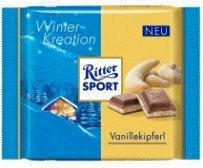 Ritter Sport Winter Kreation Vanillekipferl 100g