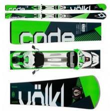 Volkl Code Speedwall L Uvo 2017 + Wiľzania Rmotion 2 12.0 D Code Green