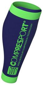 CompresSport Calf R2 V2 niebieski T3