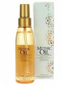 Loreal Mythic Oil uniwersalny olejek odżywczy 125ml Włosy bez połysku
