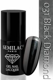 Semilac Lakier hybrydowy 031 Black Diamond