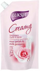Luksja Creamy mydło w płynie Rose Petal & Milk Protein zapas 400ml