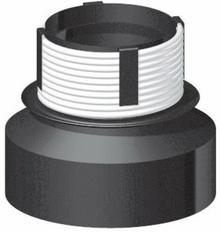 Bertrams DARCO Przejście redukcyjne 160/140mm blacha czarna 2mm