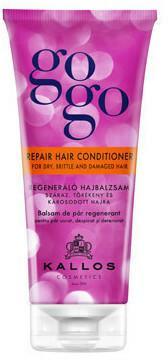 Kallos GOGO odżywka regenerująca do suchych, łamiących się i uszkodzone włosów