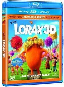 Lorax 2D + 3D Dr. Seuss' The Lorax