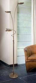 Steinhauer Steinhauer DIAMOND lampa stojąca LED Brązowy, 3-punktowe 7263BR