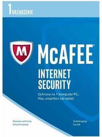 McAfee Internet Security 2017 PL OEM 12m