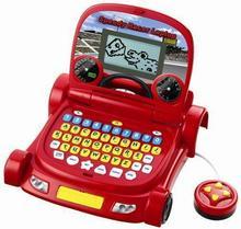 Smily Laptop Polsko-angielski samochodzik Auto Cars 8214