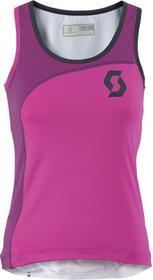 Scott Koszulka Ws Endurance 10 tank bright pink/ beerry purple S