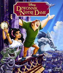 GALAPAGOS Dzwonnik z Notre Dame (Disney) Czarne charakterki