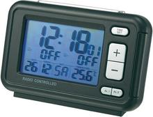 Zegar cyfrowy z dużym wyświetlaczem Sterowany radiowo CE RC367 GREY (SxWxG) 116