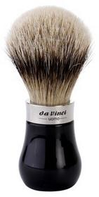 da Vinci da Vinci Uomo pędzel do golenia dla mężczyzn No 293 Badger Hair Silver Tips