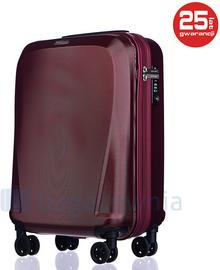 Puccini Mała kabinowa walizka LONDON PC019C 3 Czerwona - czerwony PC019C 3