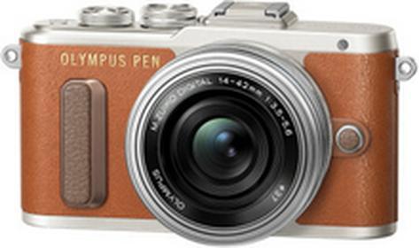 OlympusPen E-PL8 +14-42 brązowy