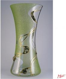 Maskl Wazon ozdobny zielona droga z nefrytem
