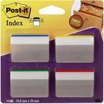Opinie o Post-it Zakładki indeksujące 3M do archiwizacji wygięte do szuflad 686-A1