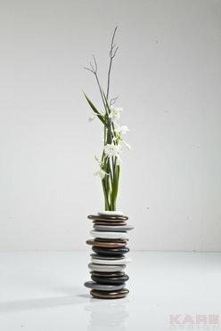 Kare Design Pebbles Mocca Wazon 36cm - 36007