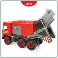 Wader Middle Truck Śmieciarka czerwona w kartonie