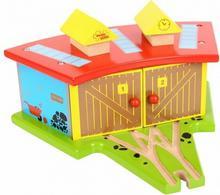 Duża parowozownia dla 3 pociągów
