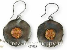 KOGATA - MURANO GLASS Kolczyki wiszące Kaziar MURANO GLASS KZ108A