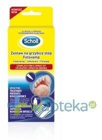 Scholl RECKITT BENCKISER (POLAND) S.A. Zestaw na grzybicę do stóp 1op.