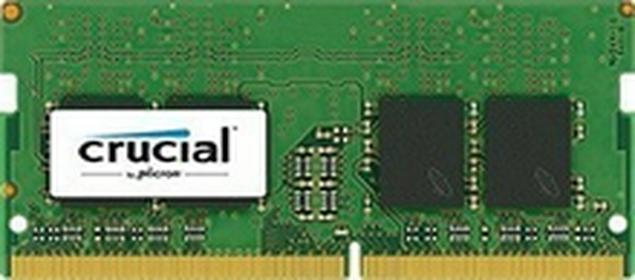 Crucialpamięć DDR4, 16GB, 2133MHz, CL15, DRx8, SODIMM, 260pin CT16G4SFD8213
