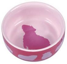 Trixie Miska ceramiczna 250ml dla świnki morskiej [60732] MS_6529