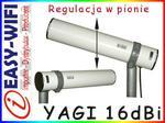 Opinie o #YAGI 16dBi #REG. PIONOWA# RP-SMA/RF240 GW/FV