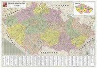 B2B Partner Mapa administracyjna Czech 173006
