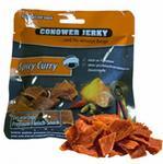 Opinie o Conower Jerky Mięso suszone wieprzowina pikantne curry 25g