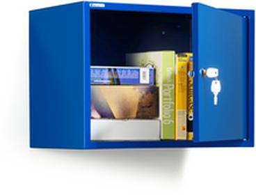 AJNiebieska szafka na dokumenty W380xS550xG340mm