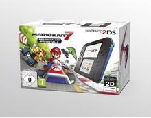 Nintendo 2DS Niebiesko-Czarny + Mario Kart 7