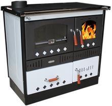 Koper piec kuchenny na drewno do centralnego ogrzewania Special 90 GRE biały