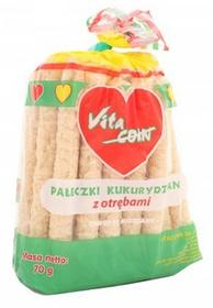 Vitacorn Pałeczki kukurydziane z otrębami - bez soli, konserwantów 70g 01359