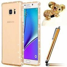 Samsung Vandot cienkie, silikonowe etui na telefon Galaxy S7 Edge, przezroczyste
