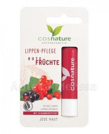 COSNATURE Naturalny ochronny balsam do ust z ekstraktem z czerwonych owoców 4,8 g