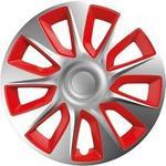 VERSACO Pokrywa koła Stratos silver/red 13