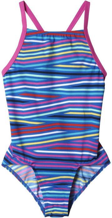 142675584fc2ff Adidas strój kąpielowy Inf+Th.St.1Pcgb Shock Pink Blue 170 - Ceny i opinie  na Skapiec.pl