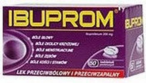 US Pharmacia Ibuprom 50 szt.