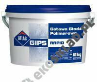 Atlas Gips Rapid gotowa gładź polimerowa 18kg AT-AG-RAPID-18-39