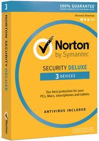 Symantec Norton Security Deluxe 2016 (3 stan. / 12 mies.) - Nowa licencja